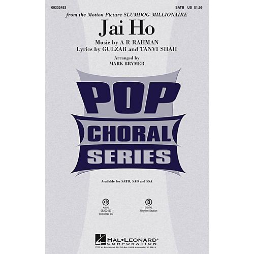 Hal Leonard Jai Ho (from The Motion Picture Slumdog Millionaire) ShowTrax CD Arranged by Mark Brymer