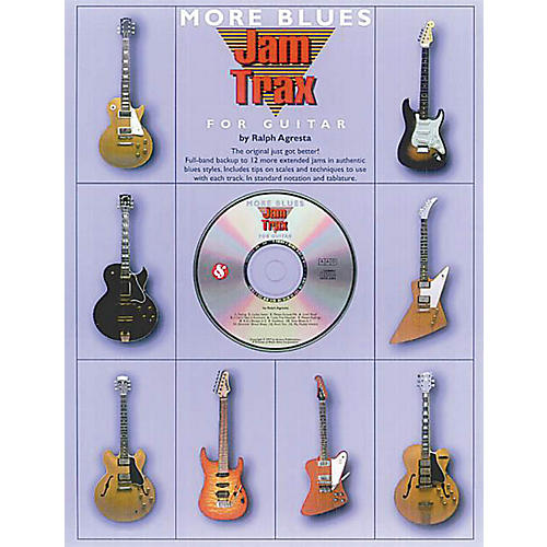 Music Sales Jam Trax: More Blues Music Sales America Series Softcover with CD Written by Ralph Agresta-thumbnail