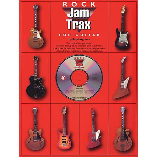 Music Sales Jam Trax Rock for Guitar (CD)