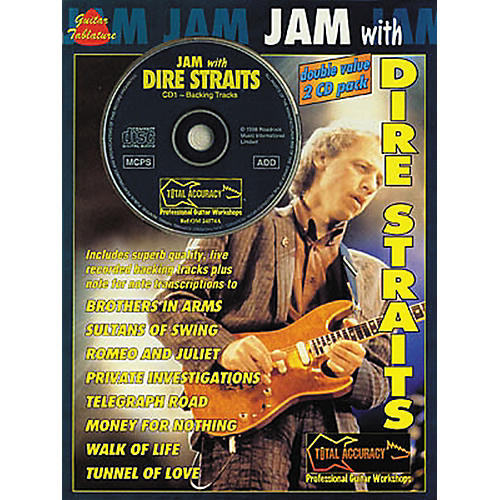 Hal Leonard Jam with Dire Straits Book with 2 CDs