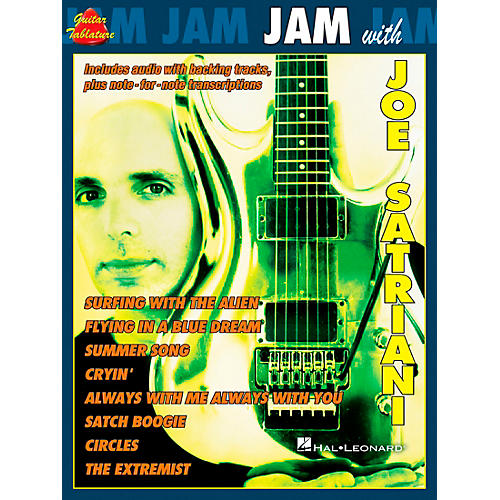 Cherry Lane Jam with Joe Satriani Book with CD-thumbnail