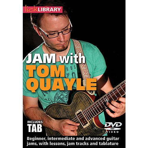 Licklibrary Jam with Tom Quayle Lick Library Series DVD Performed by Tom Quayle-thumbnail