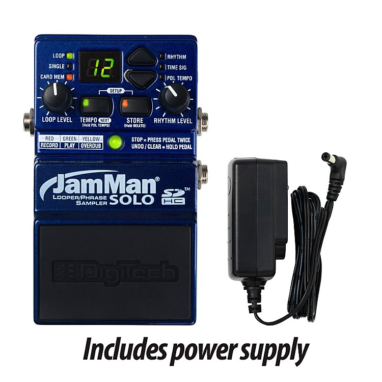 DigiTech JamMan Solo Looper Guitar Effects Pedal