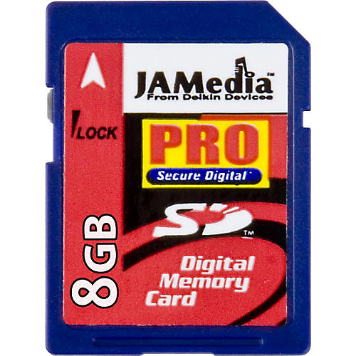Delkin JamMedia PRO 8GB SD Memory Card-thumbnail