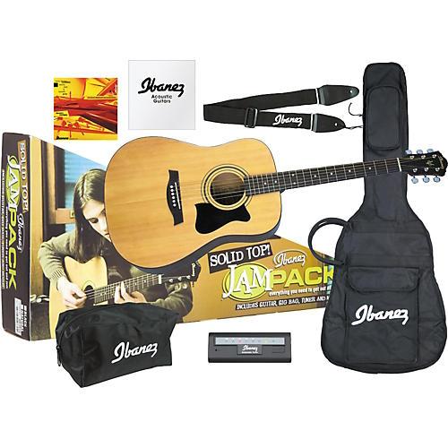 Ibanez JamPack Solid-Top Acoustic Guitar Pack