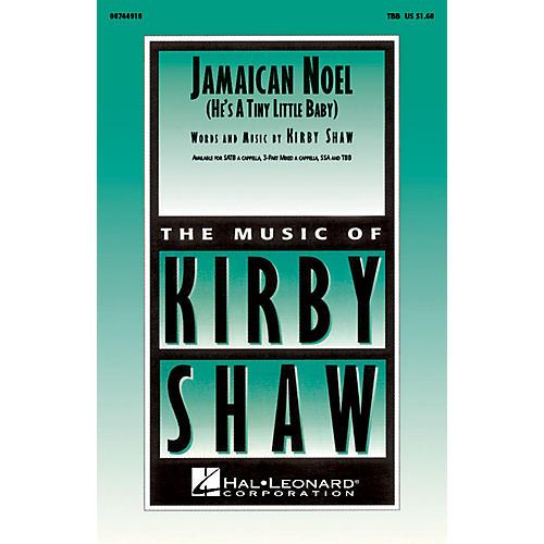 Hal Leonard Jamaican Noel TBB composed by Kirby Shaw