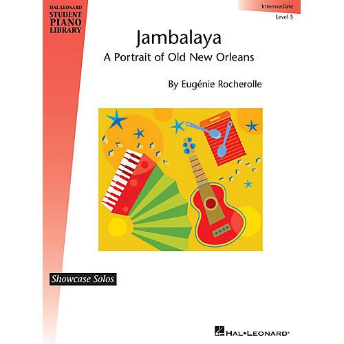Hal Leonard Jambalaya Piano Library Series by Eugénie Rocherolle (Level Inter)-thumbnail