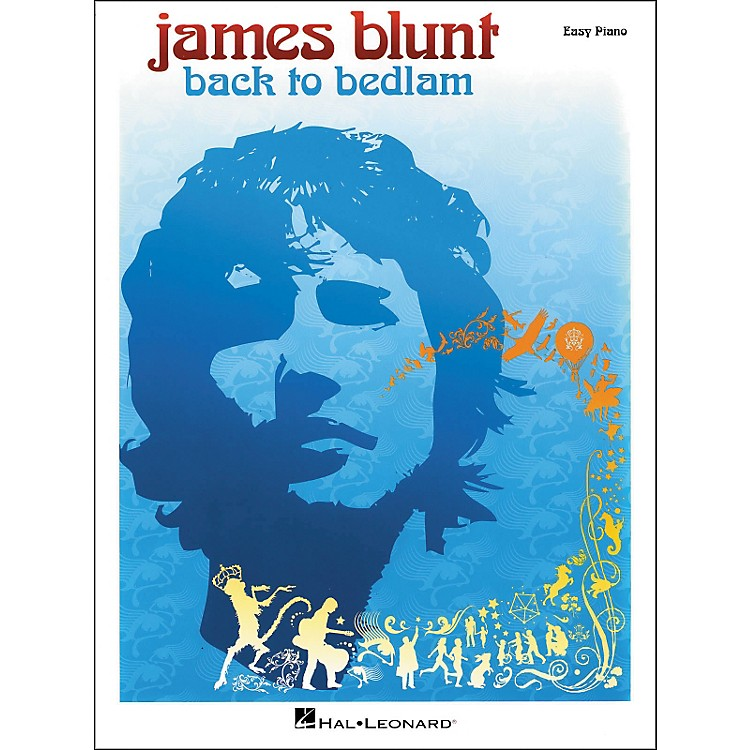 Hal LeonardJames Blunt - Back To Bedlam for Easy Piano