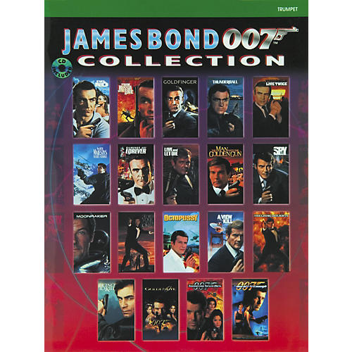Alfred James Bond 007 Collection for Trumpet