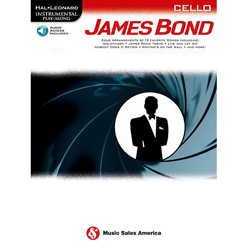 Music Sales James Bond For Cello - Instrumental Play-Along Book/Online Audio-thumbnail