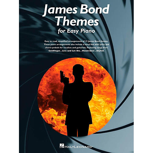 Music Sales James Bond Themes For Easy Piano-thumbnail