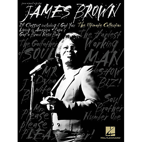 Hal Leonard James Brown  The Ultimate Collection for Piano/Vocal/Guitar-thumbnail