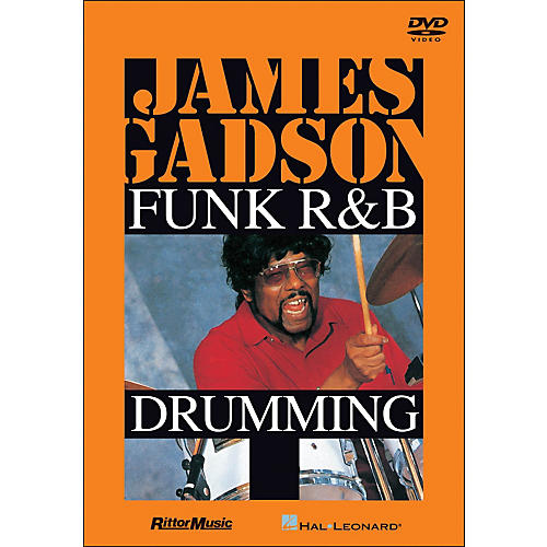 Hal Leonard James Gadson - Funk/R&B Drumming DVD
