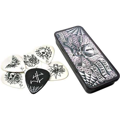 Dunlop James Hetfield Pick Tin with 6 Picks