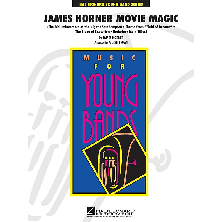 Hal LeonardJames Horner Movie Magic - Young Band Series Level 3