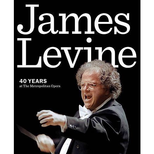 Amadeus Press James Levine (40 Years at the Metropolitan Opera) Amadeus Series Softcover Written by Metropolitan Opera-thumbnail