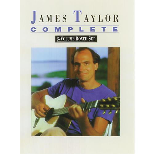 Alfred James Taylor Song Book Box Set