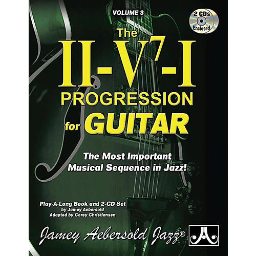 Jamey Aebersold Jamey Aebersold Jazz, Volume 3: The ii-V7-I Progression for Guitar Book & 2 CDs-thumbnail
