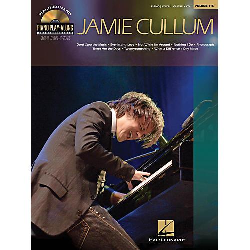 Hal Leonard Jamie Cullum - Piano Play-Along Series Volume 116 Book/CD