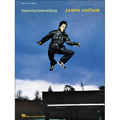 Hal Leonard Jamie Cullum Twenty Something arranged for piano, vocal, and guitar (P/V/G)