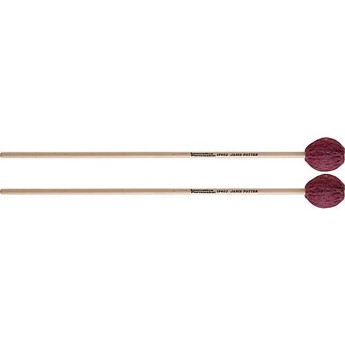 Innovative Percussion Janis Potter Series Birch Marimba Mallets MEDIUM SOFT BIRCH