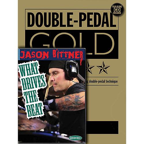 Hudson Music Jason Bittner - Double Bass Drum Pro Method (Book/CD/DVD Pack) DVD Series Performed by Jason Bittner-thumbnail