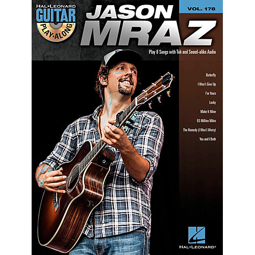 Hal Leonard Jason Mraz - Guitar Play-Along Volume 178 (Book/CD)