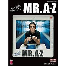 Cherry Lane Jason Mraz - Mr. A-Z arranged for piano, vocal, and guitar (P/V/G)