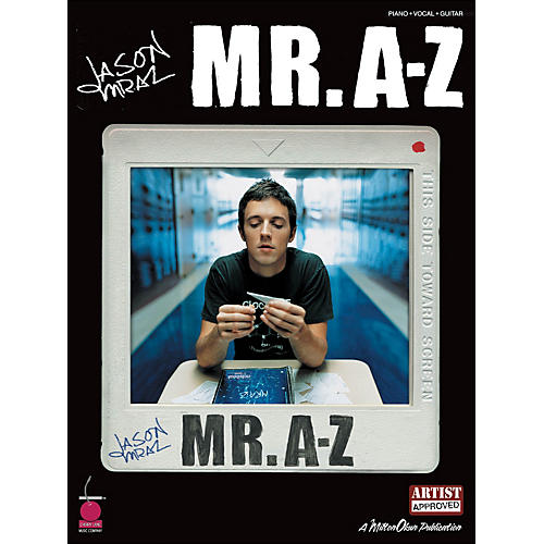 Cherry Lane Jason Mraz - Mr. A-Z arranged for piano, vocal, and guitar (P/V/G)-thumbnail