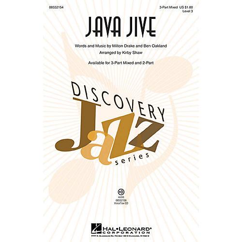 Hal Leonard Java Jive (Discovery Level 3) VoiceTrax CD Arranged by Kirby Shaw-thumbnail