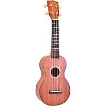 Mahalo Java Series MJ1TBK-U Soprano Ukulele Transparent Brown