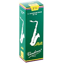 Vandoren Java Tenor Saxophone Reeds Strength 2.5 Box of 5