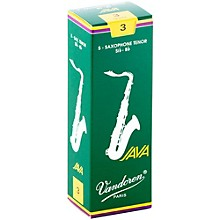 Vandoren Java Tenor Saxophone Reeds Strength 3 Box of 5