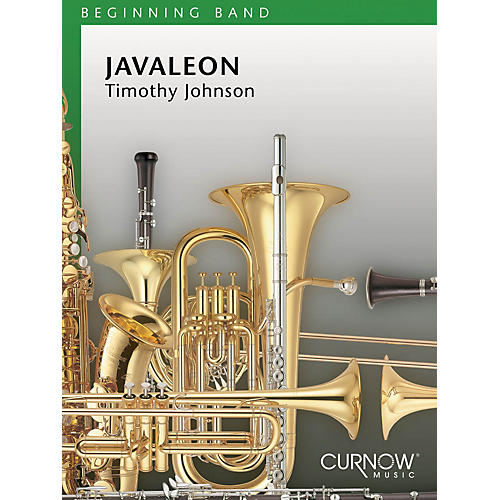 Curnow Music Javaleon (Grade 1.5 - Score Only) Concert Band Level 1.5 Composed by Timothy Johnson-thumbnail