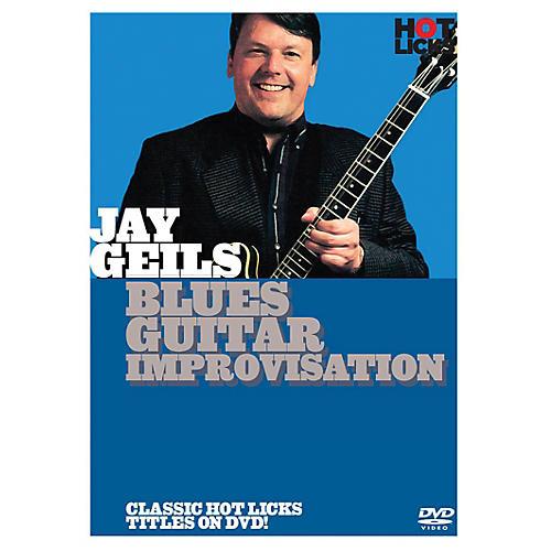 Music Sales Jay Geils - Blues Guitar Improvisation Music Sales America Series DVD Written by Jay Geils-thumbnail