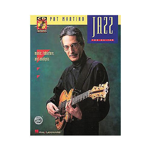Hal Leonard Jazz - Pat Martino (Book and CD Package)-thumbnail