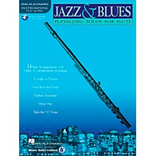 Hal Leonard Jazz And Blues Playalong Solos for Flute Book/CD