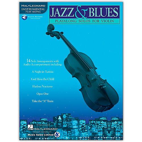 Hal Leonard Jazz And Blues Playalong Solos for Violin Book/Online Audio-thumbnail