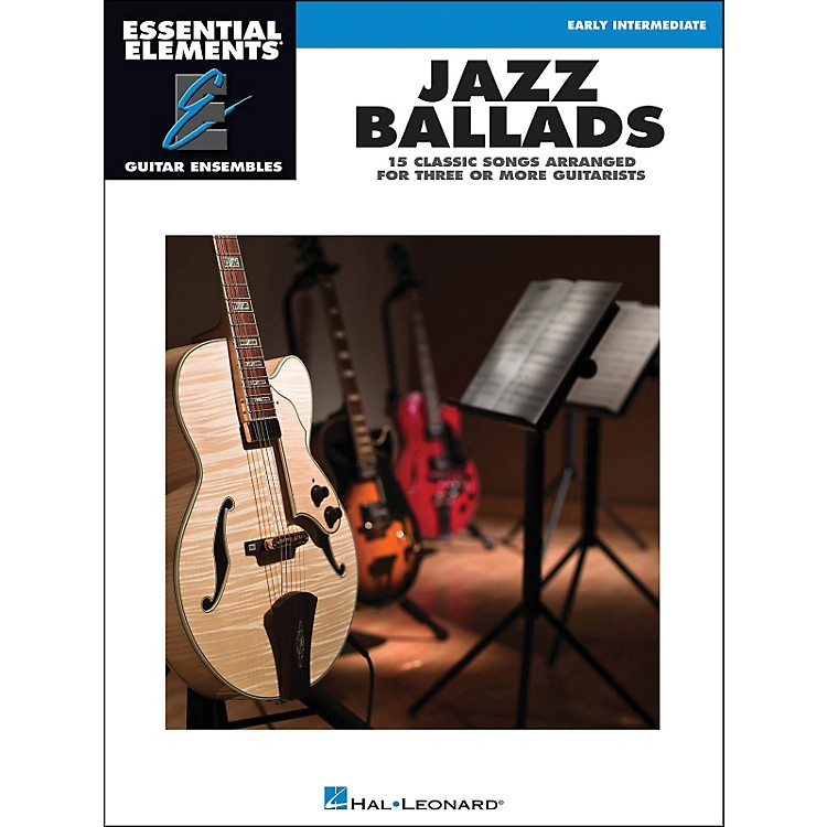 Hal Leonard Jazz Ballads - Essential Elements Guitar Ensembles