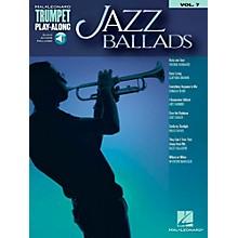 Hal Leonard Jazz Ballads - Trumpet Play-Along Vol. 7 Book/Audio Online