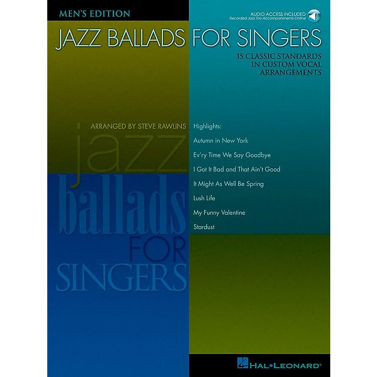Hal LeonardJazz Ballads for Singers - Men's Edition Book/CD