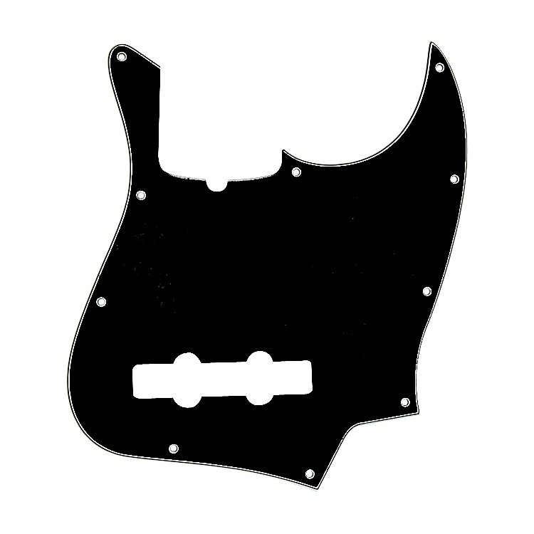 Fender Jazz Bass 3-Ply Pickguard Black