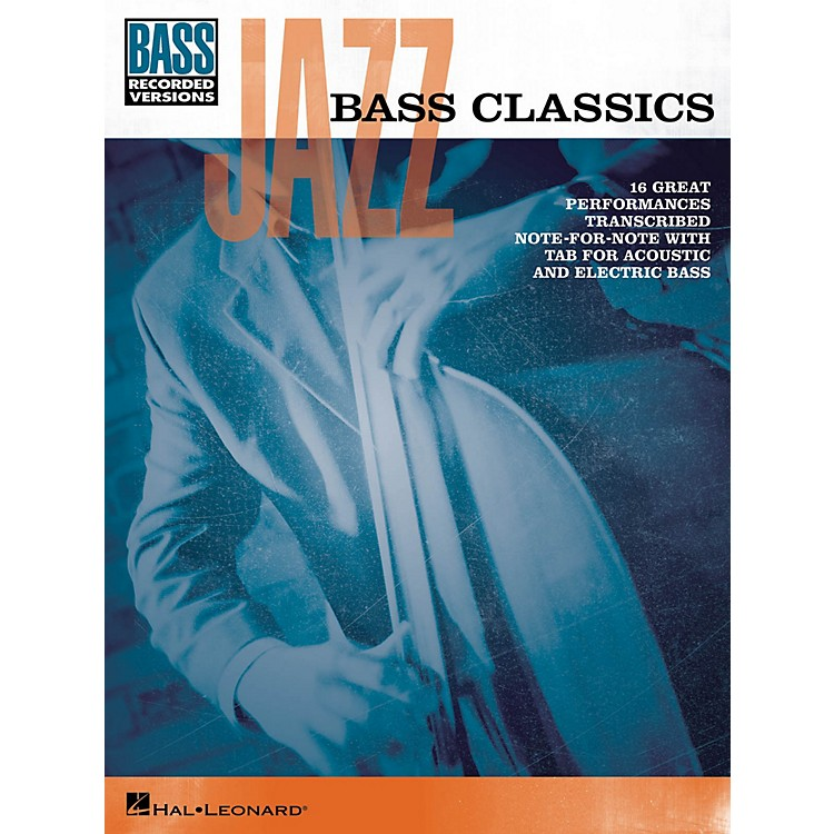 Hal LeonardJazz Bass Classics Bass Tab Songbook