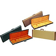 Fender Jazz Bass Hardshell Case Level 1 Black Black Plush Interior