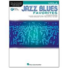 Hal Leonard Jazz Blues Favorites (Viola) Instrumental Play-Along Series Softcover Audio Online