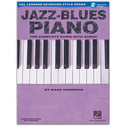 Hal Leonard Jazz-Blues Piano Book/CD The Complete Guide with CD