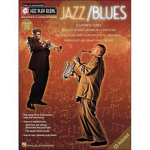 Hal Leonard Jazz/Blues Volume 73 Book/CD Jazz Play Along