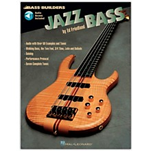 Hal Leonard Jazz Builders Jazz Bass (Book/Online Audio)