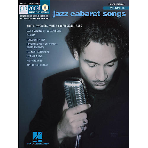 Hal Leonard Jazz Cabaret Songs - Pro Vocal Series Vol. 48 for Male Singers Book/CD