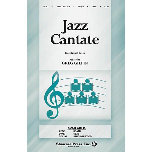 Shawnee Press Jazz Cantate SSAB composed by Greg Gilpin-thumbnail